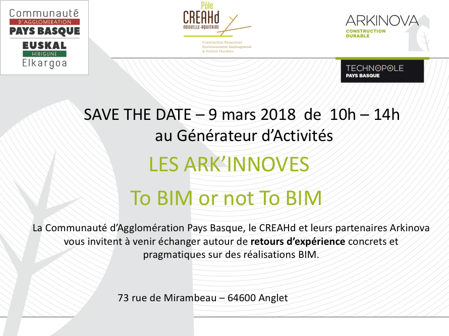 ARKINNOVES TO BIM OR NOT TO BIMARKINNOVES TO BIM OR NOT TO BIM