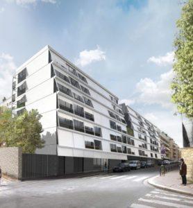 Label BBC : crèche, C.H.U. et logements à Paris