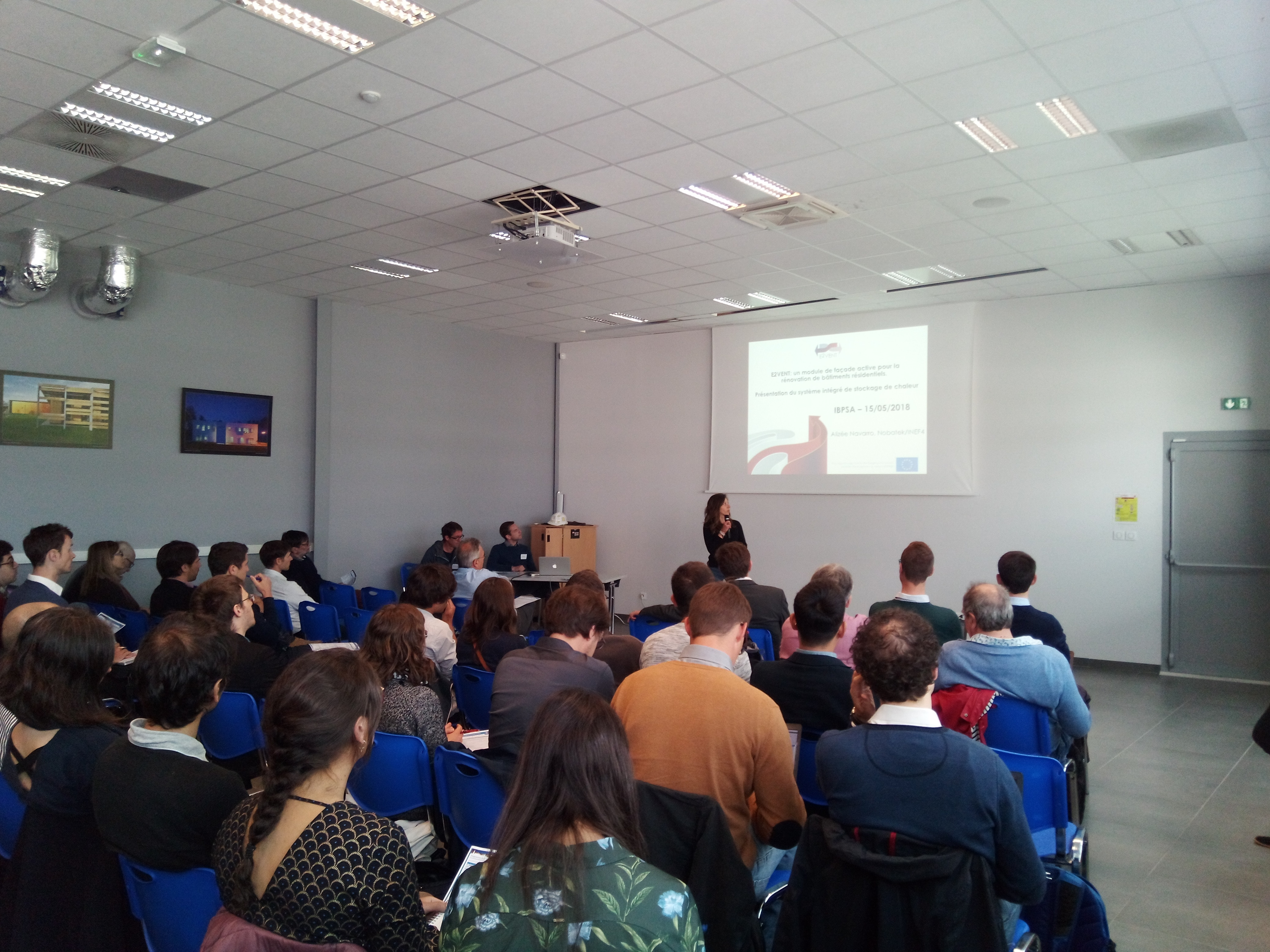 IBPSA2018 Performance Energétique présentation Alizée NAVARRO NOBATEK/INEF4