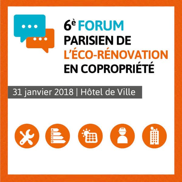 Forum parisien de l'éco-rénovation en copropriété