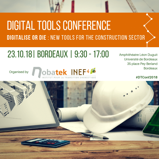 23.10.18 – Digital Tools Conference – Bordeaux