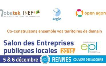 IMMERSITE® et NEST au Salon des Entreprises Publiques Locales – 5&6 décembre – Rennes
