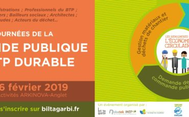 Journées de la commande publique & BTP durable