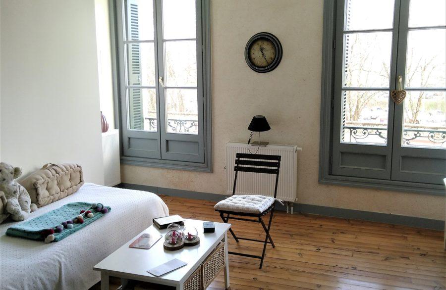 rénovation confort thermique et visuel vieille boucherie bayonne intérieur après