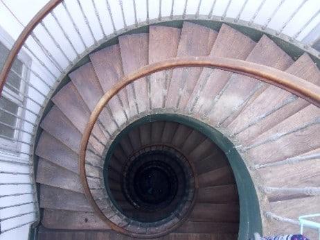 rénovation confort thermique et visuel vieille boucherie bayonne escalier avant