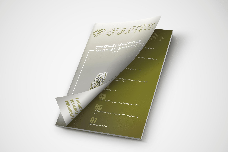 """R-EVOLUTION VOL.1 """"Conception et construction : une synergie à réinventer ?"""" : premier livre blanc à télécharger !"""