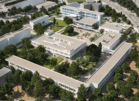 Extension/Rénovation du Lycée International A. DUMAS