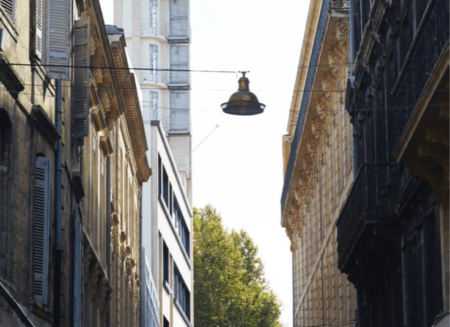 Réhabilitation de l'ancienne Tour du gaz de Bordeaux en hôtel Mama shelter