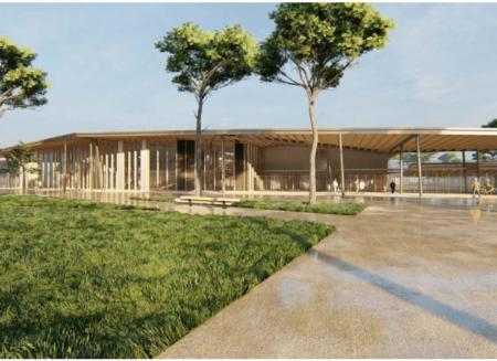 Création d'une cité scolaire au Barp (33)
