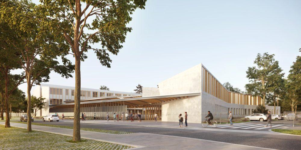 Collège Haute Gironde Entrée
