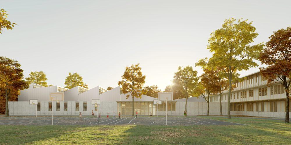 Collège Haute Gironde - Terrain sportif