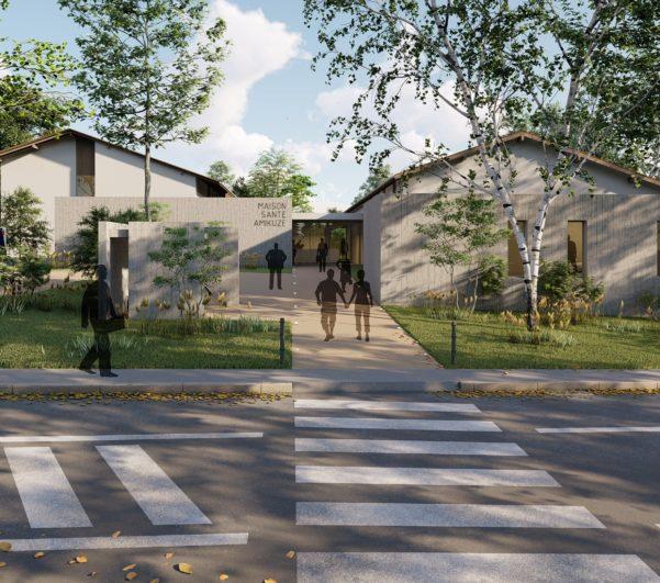 Construction de la maison de santé Amikuze à Saint-Palais (64)