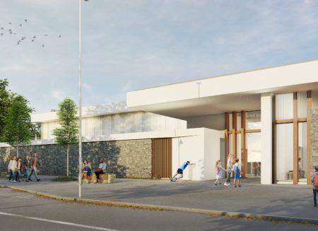 Construction d'un gymnase frugal et low tech à Bayonne (64)