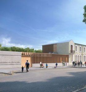 Réhabilitation et construction du groupe scolaire des Thermes Salins