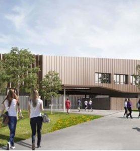 Reconstruction du Collège Jacques Ellul