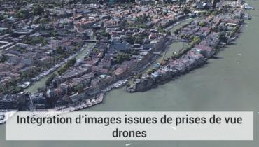 IMMERSITE - intégration d'images issues de prises de vue drones