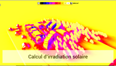 IMMERSITE - Calcul d'irradiation solaire