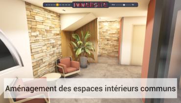 IMMERSITE - Aménagement des espaces intérieurs communs