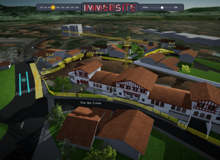 Rénovation des anciennes écoles de Bidart (64)