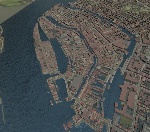 Modélisation et simulation du risque d'inondation – Dordrecht – Pays Bas
