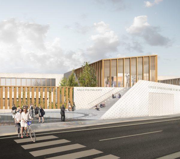 Restructuration du lycée hôtelierde Gascogne