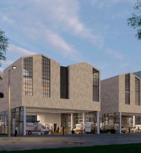 Construction d'un centre de collecte et de tri