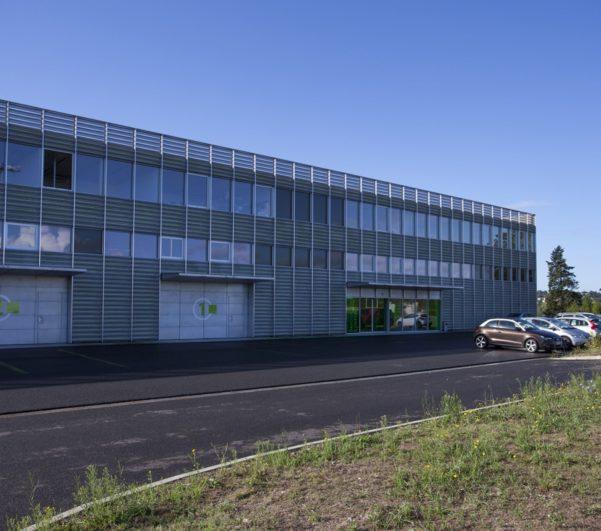 Zac Technocité construction d'une pépinière d'entreprises et d'un parc de stationnement à Bayonne (64)